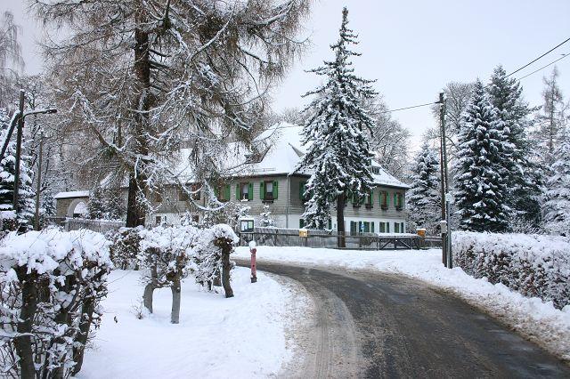 Mohlsdorf im Schnee
