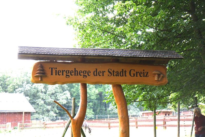 Waldhaus, Tiergehege im Naherholungsgebiet